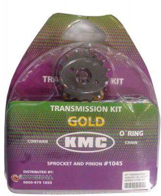 kit relação titan 150 kMC c/ retentor