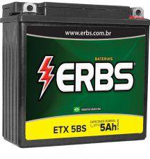 Bateria ERBS ETX 5BS TITAN150
