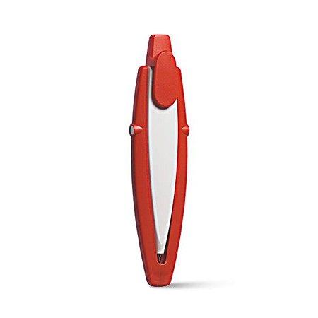 Esferográfica Acabamento matt Incluso cordão de pescoço Tinta Dokumental® 1,5km de escrita