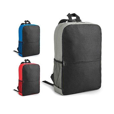 Mochila para notebook 600D Compartimento com divisória almofadada para notebook até 156'' Bolso lateral em tela e bolso frontal Parte posterior e alças almofadadas