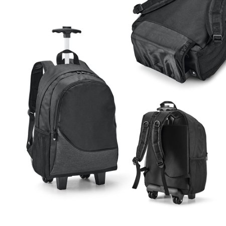 Mochila Trolley para Notebook 300D c/ 2 rodas duplas