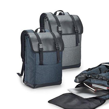 Mochila para notebook 600D de alta densidade e tarpaulin Com 2 compartimentos