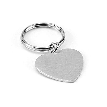 Chaveiro coração Alumínio