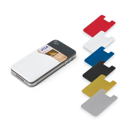Porta cartões para celular PVC Com autocolante