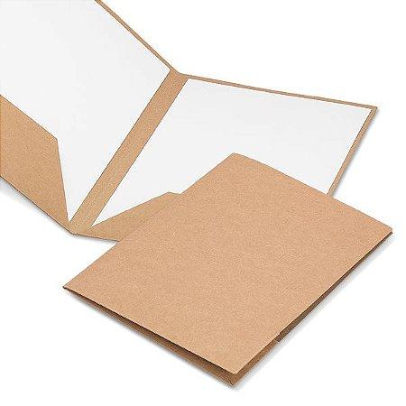 Pasta Porta Documentos A4 Cartão: 400 g/m²