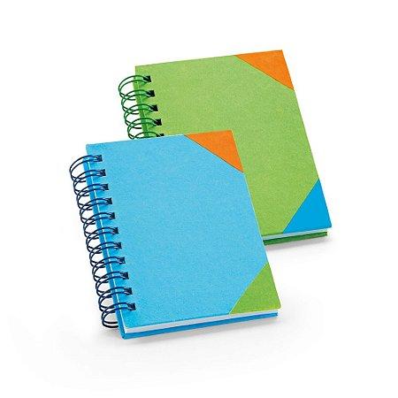 Caderno Cartão 60 folhas pautadas brancas