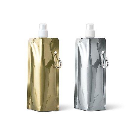 Squeeze Dobrável PE - Capacidade até 460 ml