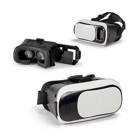 Óculos de Realidade Virtual ABS - Ajustáveis c/ Elásticos Laterais e Superior - Lentes ajustáveis Para smartphones de 47'' a 6'' Compatíveis com Android e iOS Download da aplicação em Play Store e AppStore