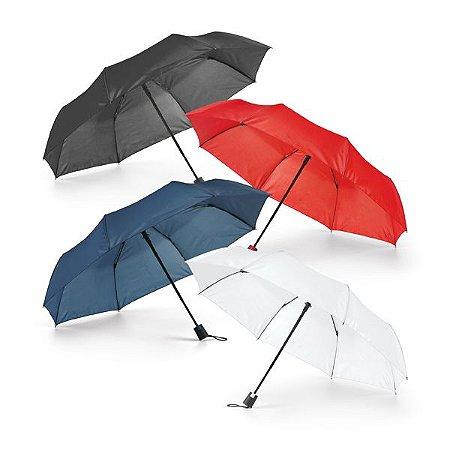 Guarda-chuva dobrável Poliéster 190T Dobrável em 3 secções Abertura automática Fornecido em bolsa