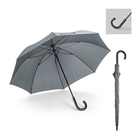 Guarda-chuva 190T pongee Varetas em fibra de vidro Pega em c sintético À prova de vento Abertura automática