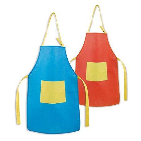 Avental para criança Non-woven: 80 g/m² Ajustável Com 1 bolso