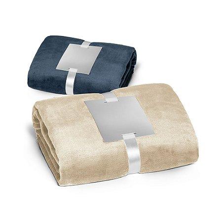 Manta Tecido polar: 240 g/m² Com acabamento aveludado e tratamento anti-pilling Fita acetinada e cartão para personalização