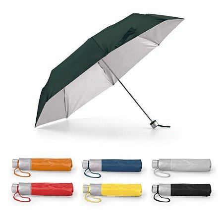 Guarda-chuva dobrável Poliéster 190T Dobrável em 3 seções Fornecido em bolsa