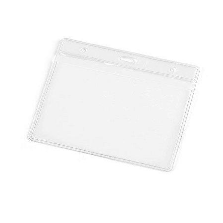 Porta Crachás PVC Cristal 11x0,9 cm + Cordão s/ Impressão - SP 93357