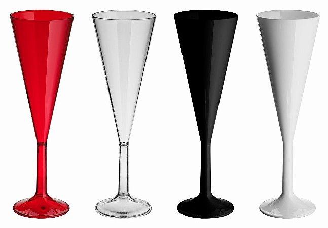 NP - Taça de Champanhe Elegance 180 ml em PS cristal