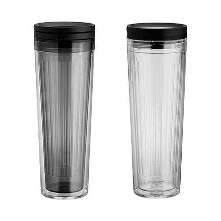 NP - COPO SLIDE 480ML Produto em ABS, BPA Free.
