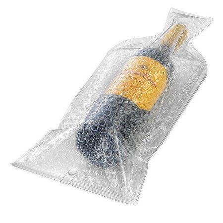 SP 34701 - Protetor para garrafa Protetor para garrafa. PVC e plástico bolha. 178 x 437 x 13 mm
