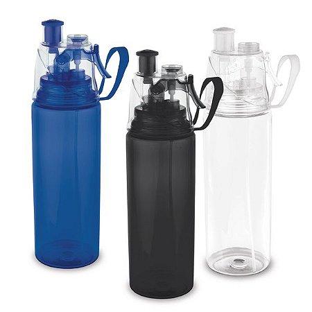 SP 94632 - Squeeze em PS e ABS c/ borrifador de água - Capacidade até 600 ml
