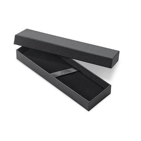 SP 91955 - Estojo para 1 ou 2 esferográficas Cartão c/ almofada em veludo. 175 x 55 x 25 mm