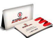 Cartão Visita Off-Set - CR441000 - 1000 Unid - Reciclato - 250g - 4x4
