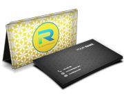 Cartão Visita Off-Set - C25441 - 1000 Unid -  Couche Brilho - 250g - Verniz Uv Total F - 4x4