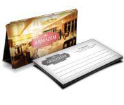 Cartão Visita Off-Set - CS4X1100 - 100 Unid - Couche Brilho - 275g - 4x1