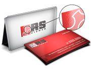 Cartão Visita Off-Set - CVL1000 - 1000 Unid - Couche 300g - Lam Fosca e Verniz Loc FeV - 4x4