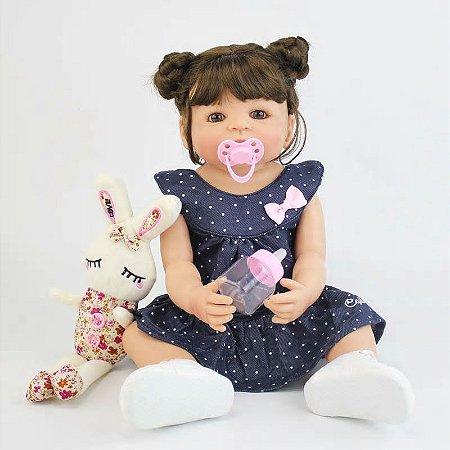 Bebê Ana Nanda| 100% Silicone |Pode Molhar e dar Banho