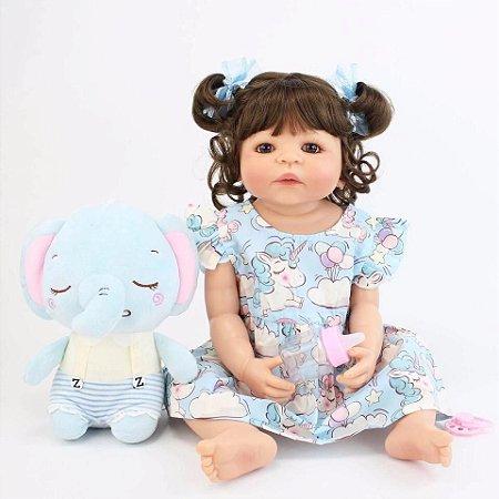 Bebê Gigi   100% Silicone   Pode dar Banho