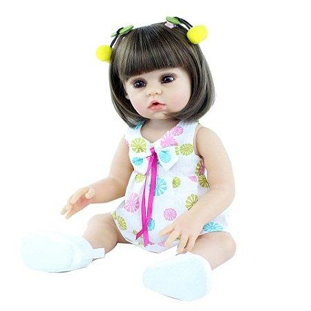 Bebê Sofia  100% Silicone  Pode Molhar e dar Banho