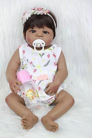 Bebê Andressa  100% Silicone  Pode Molhar e dar Banho