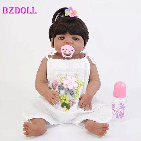 Bebê Maitê  100% Silicone  Pronta Entrega