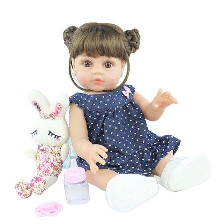Bebê Lucy  100% Silicone  Pode Molhar e dar Banho