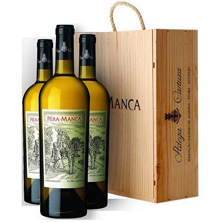 Pera Manca Branco 2018 - Kit com 03 garrafas