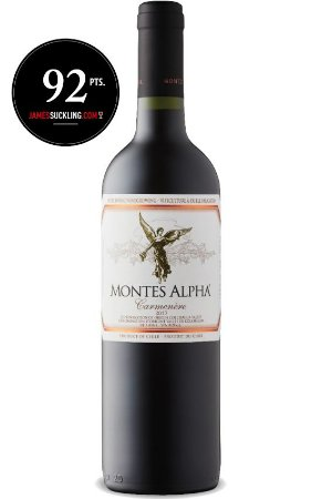 Montes Alpha Carmenere 2017