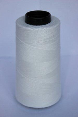 Linha 120 Poliéster 5000m - cor 0001 - Branco Natural