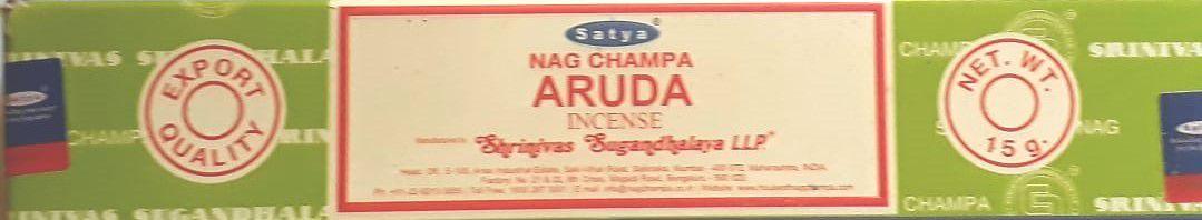 Incenso Satya Nag Champa Aruda - Importado da Índia