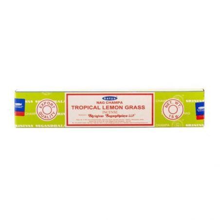 Incenso indiano Satya Nag Shampa Tropical Lemon Grass