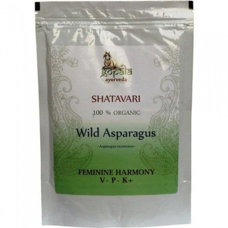 Shatavari ( Asparagus Racemosus ) em pó 250 grs- Original da Índia