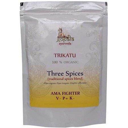 Trikatu Churna Powder - Gopala Ayurveda - 250 grs