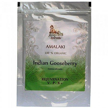 Amalaki (Amla) pó orgânico 250g (Emblica officinalis) - Gopala Ayurveda
