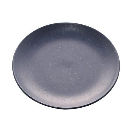 Conj 2 Pratos Sobremesa Cerâmica Granilite Azul 19cm 28588