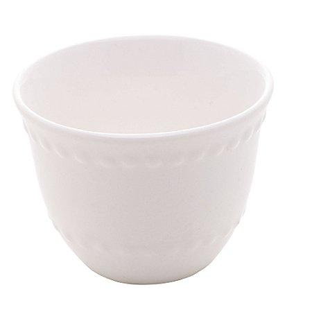 Mini Copinho para Café Porcelana New Bone Pearl Branco 60ml 8575