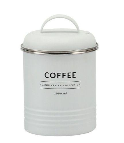 Porta Mantimentos Branco Copenhag Coffee 1000ml