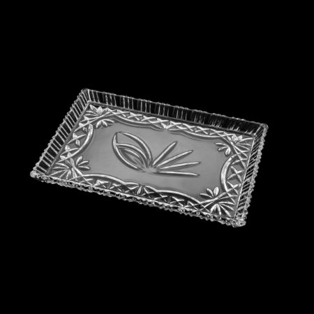 Travessa Cristal de Chumbo Janine 29,5x19,5cm 7244