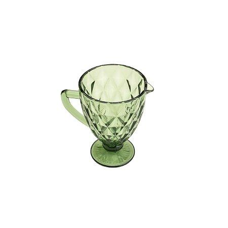 Jarra de Vidro Diamond Verde 1,1 Litros 6496