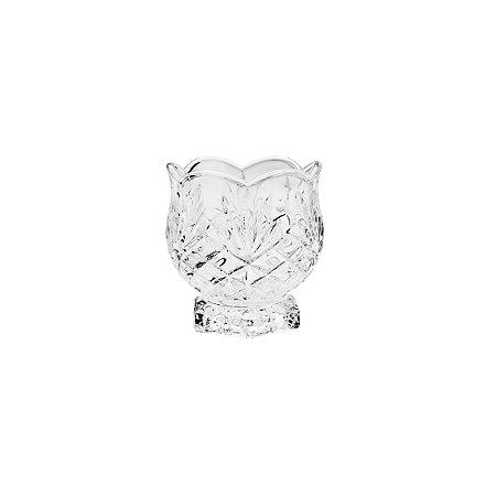 Porta colher de Cristal Dublin 8x8,5cm 7460