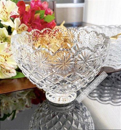 Bowl/Tijela de Cristal Diamond Star 12,5x9,5cm 4406