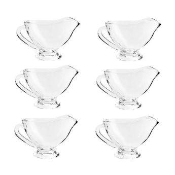 Cj com 6 Mini Molheiras de Cristal de Chumbo Seul 50ml 7451