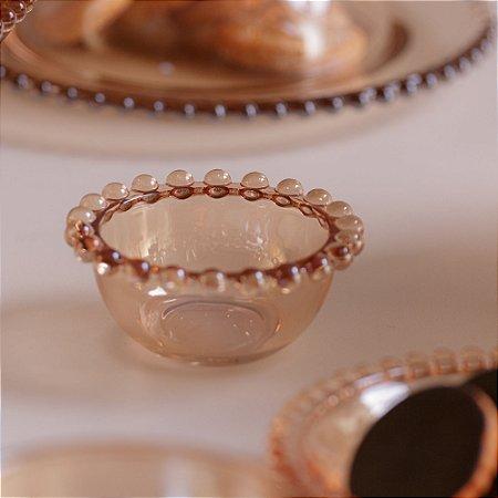Jogo 4 Mini Bowls de Cristal Pearl Bolinhas  28230